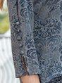 Vintage Slit Floral Exotic Top
